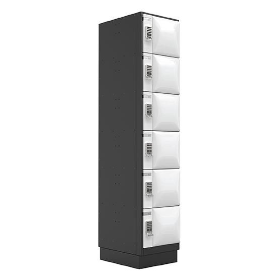 6 Doors Steel Locker