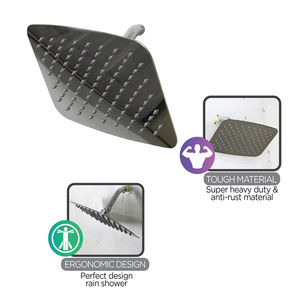 Shower Head & Hand Shower|PREMIER Shower (Stainless Steel Polish)